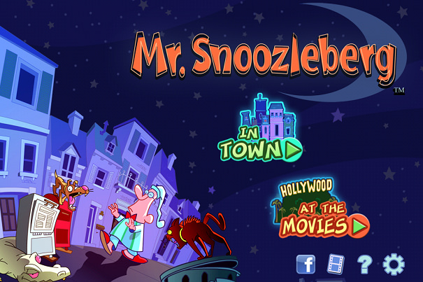 《APP》Mr Snoozleberg夢遊先生@iTunes復古益智小品遊戲