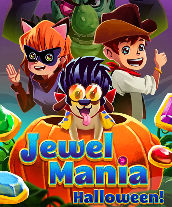 《APP》Jewel Mania下載@Android/iTunes可愛有趣坂魔術方塊遊戲